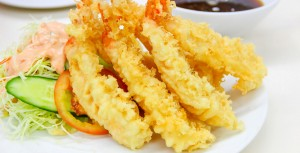 Deep Fried Shrimp (Japanese Style)