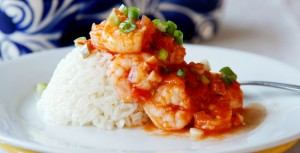 Shrimp in Beer Sauce